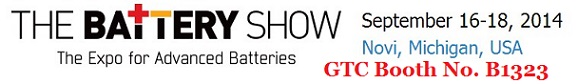 The Battery Show 2014